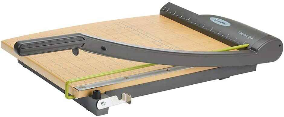 #3. Swingline ClassicCut Ingenito 15 Sheet Capacity 15'' Cut Length Trimmer Guillotine Paper Cutter