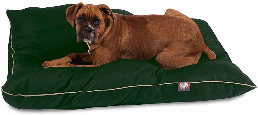 #5. Majestic Pet Super Value Highest Quality Loft Polyester Fill Machine Washable Dog Pet Bed Pillow