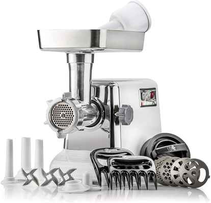 #2. STX International Turboforce Classic 3000 Series Sausage Stuffer & Electric Meat Grinder