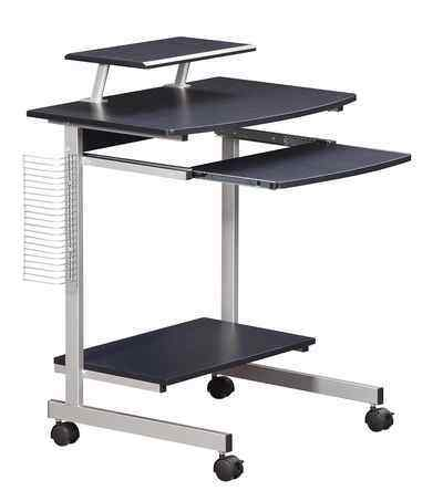 6. Techni Mobili Graphite Color Mobile and Compact Stand-to-Sit Standing Desks