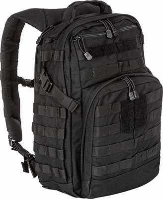 #1. 5.11 Tactical 24 Liter Small Rush12 Molle Bag Rucksack Pack Style 56892 Backpack
