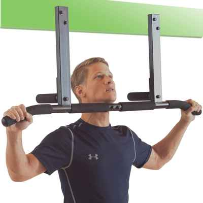 #1. Ultimate Heavy-Duty Body Ultimate Upgrade Joist Press Mount Pull-Up Bar