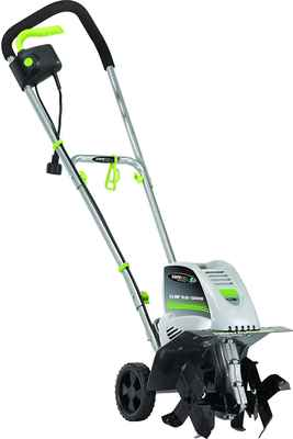 #5. Earthwise Corded TC70001 11'' 8.5 AMP Soft Ergonomic Electric Tiller/Cultivator