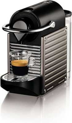 #7. Nestle Nespresso Pixie Electric Titan High-Pressure Pump Compact Nespresso Maker