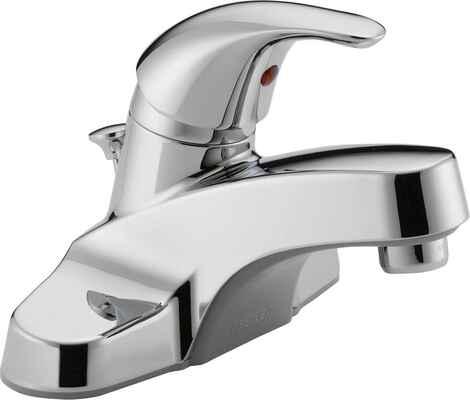 #1. PEERLESS P136LF Chrome Single-Handle Drain Assembly Center Set Bathroom Sink Faucet