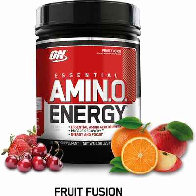 #3. Optimum Nutrition Essential Amino Energy KETO Friendly BCAAs with Green Tea &Coffee Extract