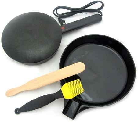 #9. Mityvac Silicone Basting Brush Easy & Fast to Use 1000W Non-Stick Electric Crepe Maker