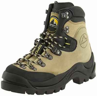 4. LA SPORTIVA Men's Makalu Synthetic Sole D-Ring Lacing Vibram Rand Mountaineering Boots