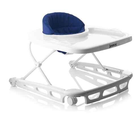 #4. Joovy Super-Sized Tray Wide Base Seat Pad 3-Height Positions Folds Flat Spoon Walker (Blueberry)