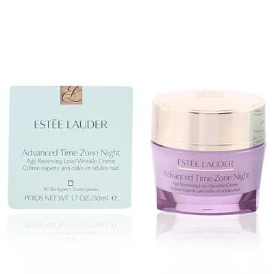 #8. Estee Lauder 1.7 Oz. Advanced Time Zone Night Ideal for Lines & Wrinkles SPF 15 Cream