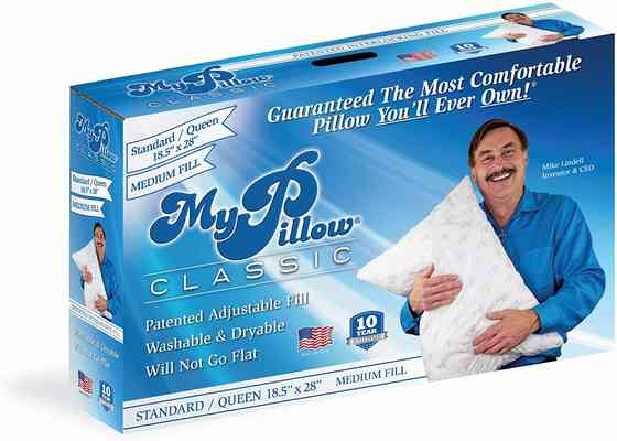 #7. MyPillow Classic Series Medium Fill 4 Loft Levels Machine Washable Memory Foam Pillow