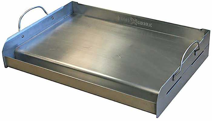 #7. Little Griddle GQ230 Professional Quality with Cross Bracing 100% Stainless Steel Griddle
