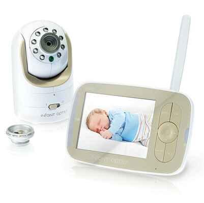 #2. Optics Interchangeable Perfect Size DXR-8 Optical Lens Video Smart Baby Monitor