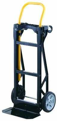 #9. Harper Truck 400lbs Weight Capacity Lightweight Glass Filled Nylon Hand Truck & Dolly