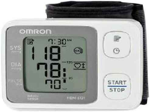 #4. Omron HEM-6131 Automatic Wrist Body Movement Detection Blood Pressure Monitor