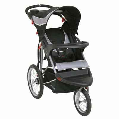 7. Baby Trend 50 Pounds Expedition Phantom Lockable Front Swivel Wheel Jogger Baby Stroller