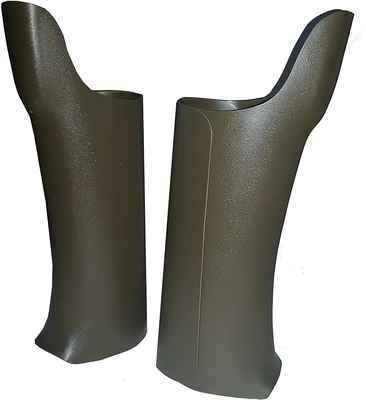 #7. Forverlast Outdoor Fit Over Boots Snakeguard Shields Green Plastic Style Snake Gaiter