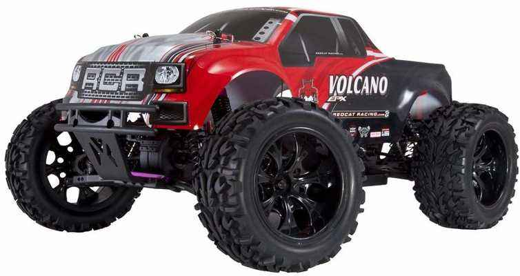 #3. Redcat Racing 4WD 1:10 Scale RTR Racing EPX Monster Remote Control RC Truck (Red)