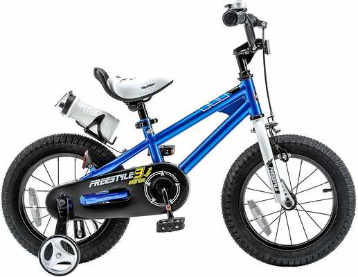 #6. Royalbaby Freestyle Training Wheels Kickstand Multiple Colors Kid's Balance Bike