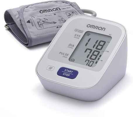 #5. Omron M2 Classic 7121E Intellisense Hi-Tech Comfortable Automatic Blood Pressure Monitor