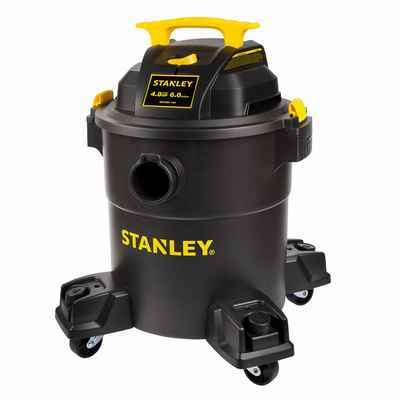 #8. Stanley 4 Peak 60-Gallon Shop-Vac HP 3-in-1 Poly Blower with Powerful Suction