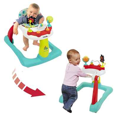 #9. Kolcraft Tiny Steps Adjustable Height Fun Toys & Activities Infant & Baby Activity Walker