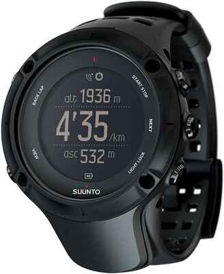 #7. SUUNTO Black Ambit3 Peak Altimeter, Compass, GPS, Barometer GPS Running Watch