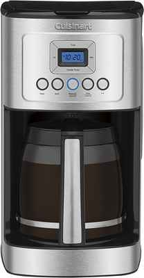#3. Cuisinart 14-Cup Stainless Steel Programmable Perfectemp Coffee Maker w/Glass Carafe
