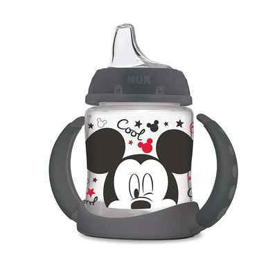 #1. NUK 5 Oz 1pk Mickey Mouse Spill-Proof Soft-Spout Air Vent Disney Learner Sippy Cup