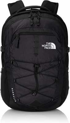 #2. The North Face Padded Air-Mesh Panel Flex-Vent Injection Borealis College Men's Backpack