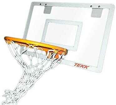 #3. TEKK Nate Robinson Monster Solid Steel Spring Thicker Backboard Durable Jam Indoor Mini Hoop