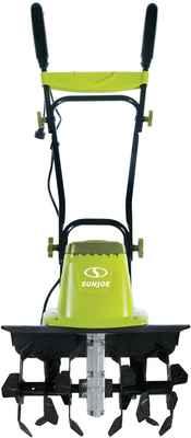 #4. Sun Joe 16'' TJ603E 12 AMP 3-Position Wheel Adjustment Electric Tiller & Cultivator