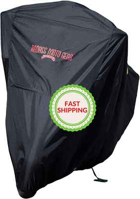 #5. Badass Motogear Harley Cruisers Supreme Waterproof Large Ultimate Motorcycle Cover