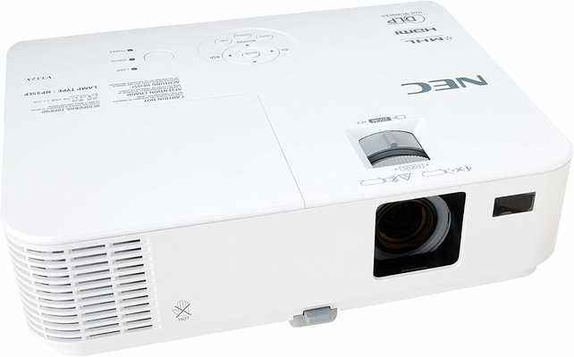 #7. NEC NP-V332X Higher Brightness ECO-Mode Dual HDMI Input Quick Startup Video Projector