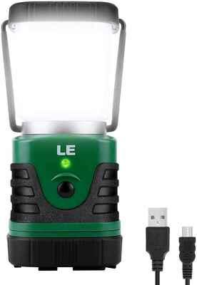 #1. Lighting EVER 1000lm 4 Light Modes IP44 Waterproof Perfect Lantern Flashlight for Hiking