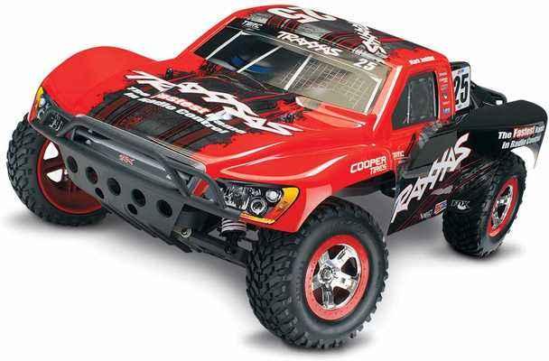 #5. Traxxas Slash 2WD 1:10 Scale TQ 2.4 GHz Radio Short Course RC Racing Truck (Mark)