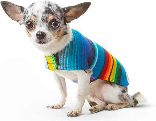 #9 Baja Ponchos Sweater Vest Coat Costume Dog Clothes Serape Blanket Dog Sweater