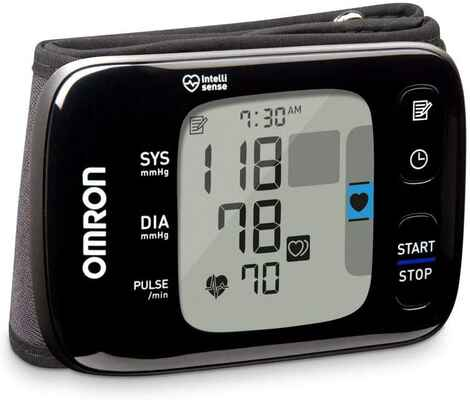 #7. Omron 7 Series Black Easy-To-Read Display Quick & Accurate Convenient Blood Pressure Monitor