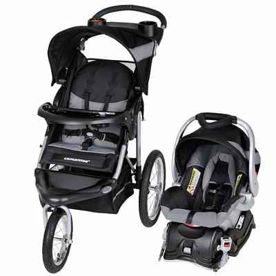 1. Baby Trend Millennium White Expedition Jogger Travel Baby Stroller System