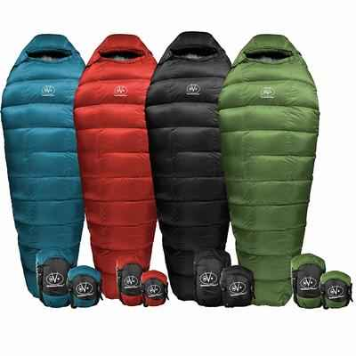3. Outdoor Vitals Summit Ultra-Lightweight Backpacking Mummy Sleeping Bag for Hiking & Camping
