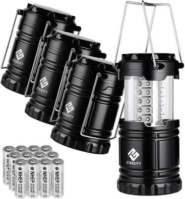 #5.ETEKCITY Lightweight & Portable Lantern Camping Lantern for Home Emergency & Outages
