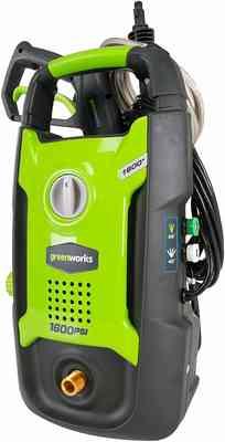 #2. Greenworks 1600 PSI 13 Amp 1.2 GMP GPW1602 Universal Use Electric Pressure Washer
