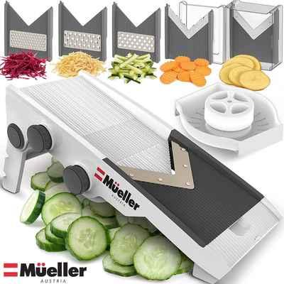 #3. Mueller Austria V-Pro Multi-Blade Adjustable Premium Quality Mandoline Vegetable Slicer