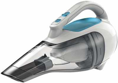 #1. BLACK + DECKER HHVI315JO42 Handheld Cordless Flexi Blue Vacuum Dustbuster