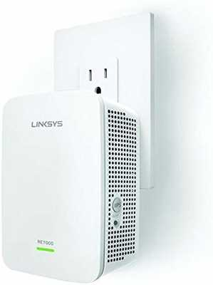 #9. Linksys AC1900 Max-Stream RE7000 Repeater Advanced MU-MIMO Wi-Fi Gigabit Extender