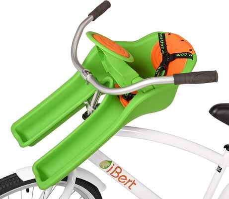 #2. iBert Easier & Safer Max Weight 38lbs Center Mounted Enjoyable Ride Child Bicycle Safe-T-Seat