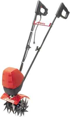 #8. Mantis Quiet Instant Starting 540W Motor Pack of One Electric Tiller (Red & Black)