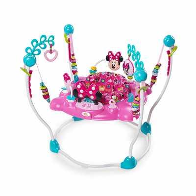 #5. Disney PeekABoo Electronic 12 Toy Station 360-degrees Fun Activity Jumper