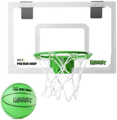 #10. SKLZ Pro Grade Foam Padded Slide-On Steel Rim 5'' Diameter Indoor Mini Basketball Hoop
