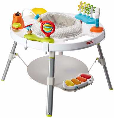 #1. Skip Hop Multicolor 3 Stage Interactive Explore & More baby's View Activity Center